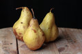 Pears delicious fruits and useful sweet food Stock Image