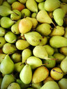 Pears fresh in a market italy Royalty Free Stock Image