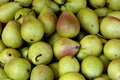 Pears at the market Royalty Free Stock Images