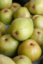 Pears for sale on a market stall Royalty Free Stock Images