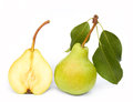 Pears on white Royalty Free Stock Photo