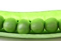 Peas in a Pod Stock Photo