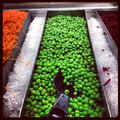 Peas At The Salad Bar Royalty Free Stock Photo