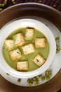 Peas soup Stock Image