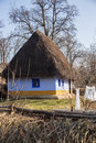 Peasant house traditional in the countryside Royalty Free Stock Photos