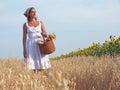 Peasant woman Royalty Free Stock Image