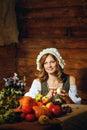Peasant woman Royalty Free Stock Photo