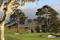 Pebble beach golf course monterey california usa a wiev of – september the public of near september in Royalty Free Stock Photography