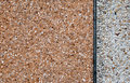 Pebble dashed concrete wall Royalty Free Stock Photos