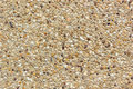 Pebble gravel floor background and wallpaper Stock Photos