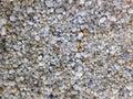 Pebble gravel floor