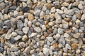 Pebble rock and stone for background texture Royalty Free Stock Photo