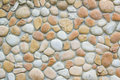 Pebble stone on ground floor Royalty Free Stock Image
