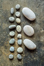 Pebble stone or Zen stone Royalty Free Stock Photo