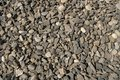 Pebble texture small pebbles. gravel, building material or trash
