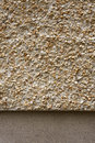 Pebbledash and concrete wall render Royalty Free Stock Photos