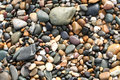 Pebbles on beach Royalty Free Stock Photo