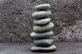 Pebbles stone of zen Stock Photos