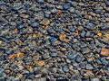 Pebbles in stream nature background Royalty Free Stock Photos