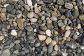 Pebbles and water background Royalty Free Stock Photo