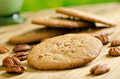 Pecan Cookies Royalty Free Stock Photo