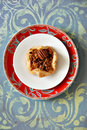 Pecan tartlet Royalty Free Stock Image