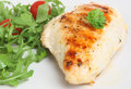 Pecho de pollo asado a la parilla Imagen de archivo