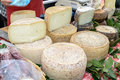 Pecorino cheese of Sardinia Royalty Free Stock Photo