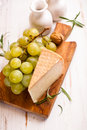 Pecorino Toscano  (Tuscan sheep cheese Royalty Free Stock Photography