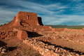 Pecos Pueblo Mission ruins Royalty Free Stock Photo