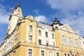 Pecs hungary city in baranya county city hall building Royalty Free Stock Images