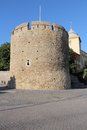 Pecs hungary city in baranya county town walls defensive tower Royalty Free Stock Image
