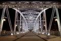 Pedestrian bridge Royalty Free Stock Photo