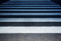 Pedestrian crossing closeup