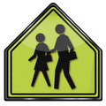 Pedestrian and crosswalk