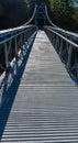 Pedestrian  footbridge Royalty Free Stock Photo