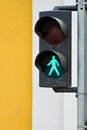 Pedestrian traffic light Royalty Free Stock Photos
