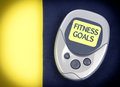 Pedometer Fitness Goals Royalty Free Stock Photo