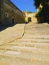 Pedralbes monastery in barcelona monestir de of catalonia spain Stock Photography