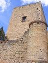 Pedraza´s castle Stock Photo