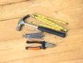 Pedreiro instruments Fotografia de Stock