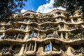Pedrera house Royalty Free Stock Images