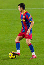Pedro of FC Barcelona Royalty Free Stock Photography