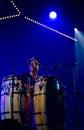 Pedro martinez group performs live on th april jazz espoo finland cuban Stock Photo
