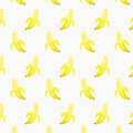 Peeled Banana Pattern Design