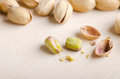 Peeled pistachio Royalty Free Stock Photo