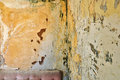 Peeling grunge wall background texture Royalty Free Stock Photo