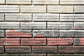 Peeling paint brick wall texture background Royalty Free Stock Photo