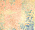 Peeling paint on wall seamless texture. Pattern of rustic blue grunge material Royalty Free Stock Photo