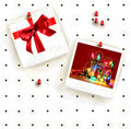 Peg board with photo frames Royalty Free Stock Photo